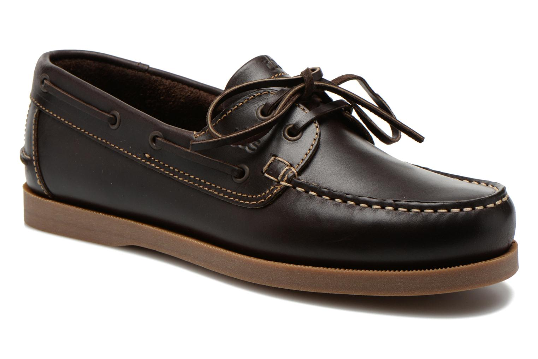 Chaussures à lacets TBS Phenis Marron vue détail/paire