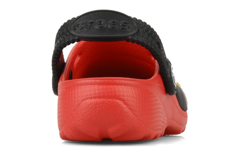 Sandalen Crocs Cars 2 Custom Clog rot ansicht von rechts