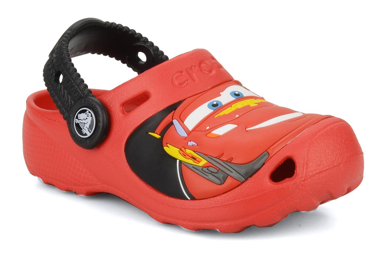 Sandalen Crocs Cars 2 Custom Clog rot detaillierte ansicht/modell