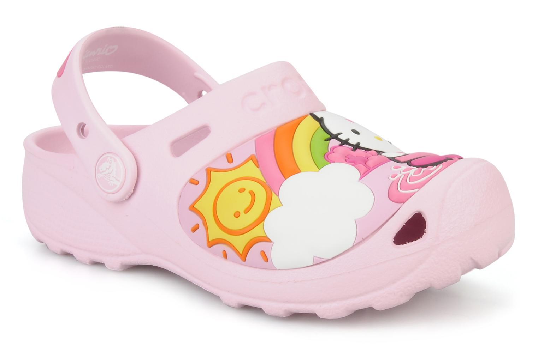 Sandalen Crocs Hello Kitty Fun Rain Or Sun rosa detaillierte ansicht/modell