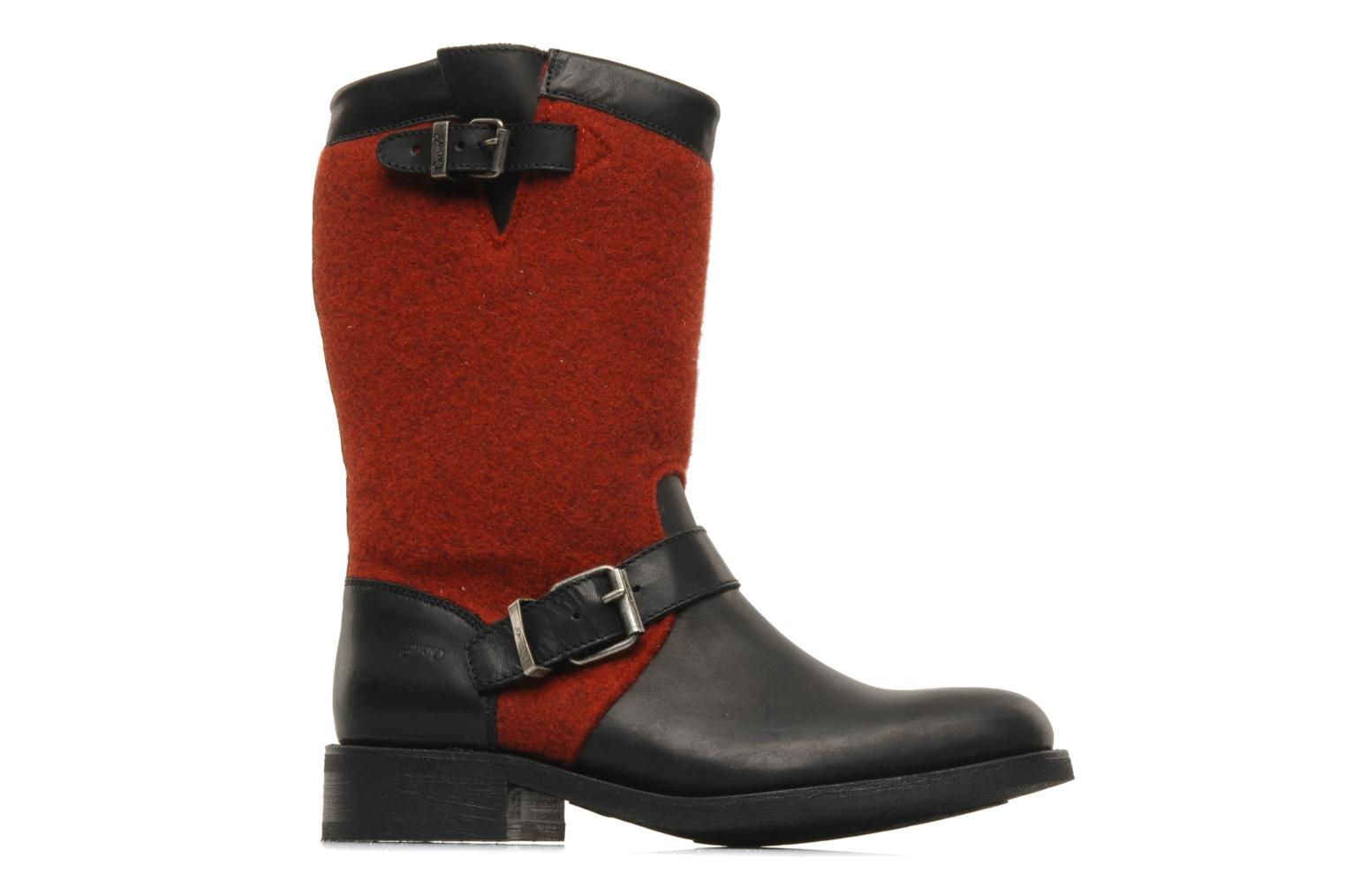 Ankle boots Sancho Boots Yogi Red back view