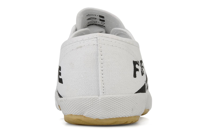Baskets Feiyue Fe lo vintage m Blanc vue droite