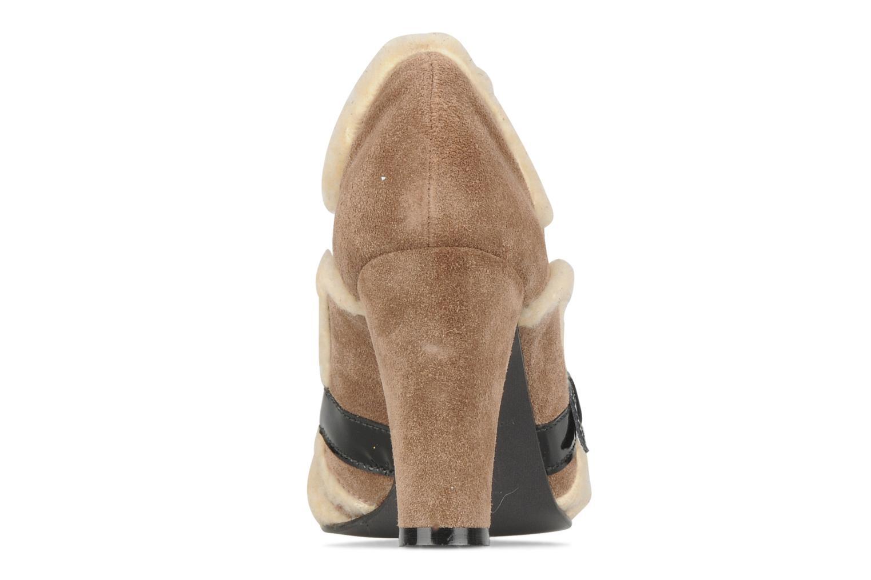 Chaussures à lacets Charlotte Vanel Dandy Marron vue droite