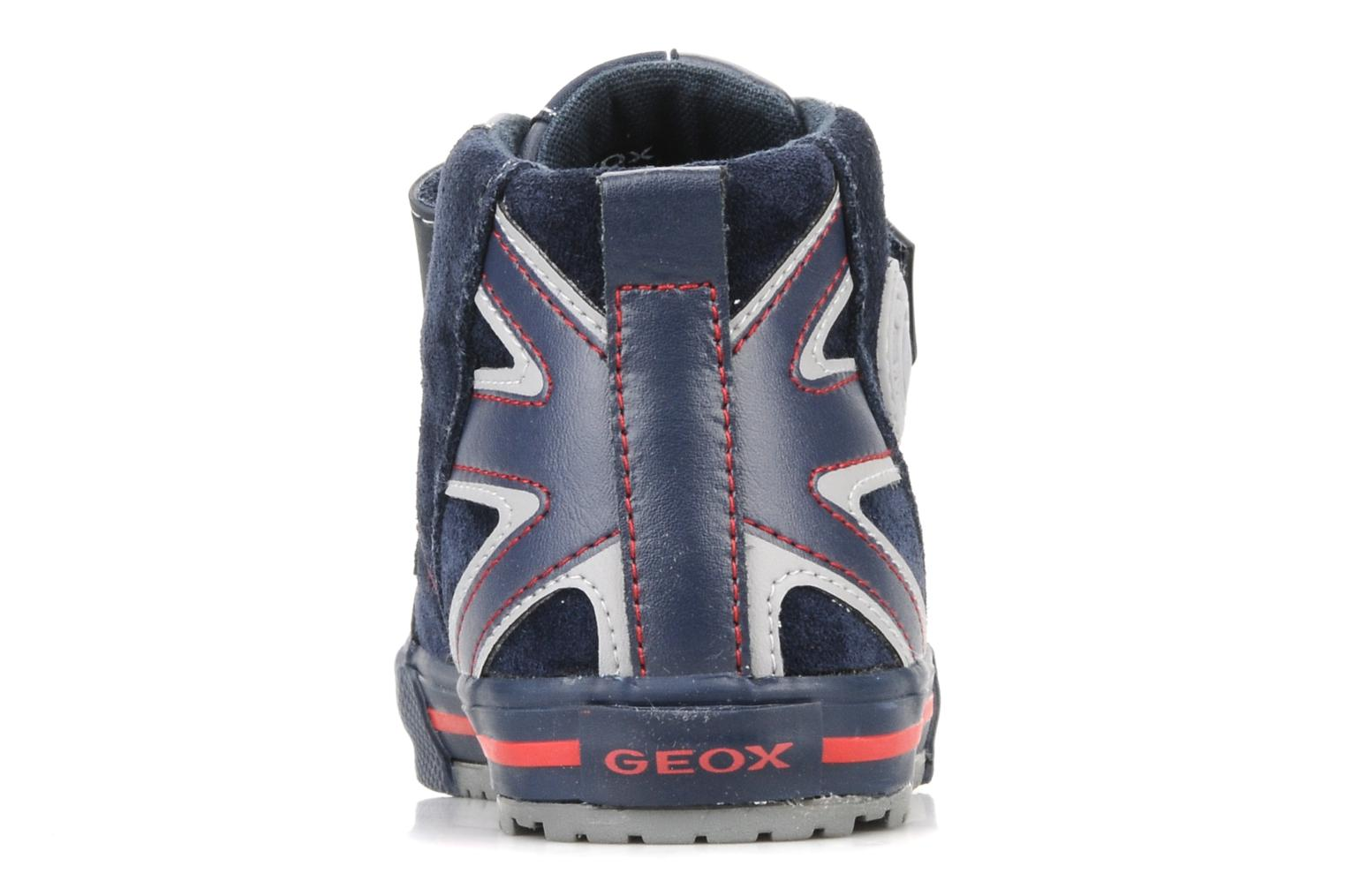 Trainers Geox J ball b Blue view from the right