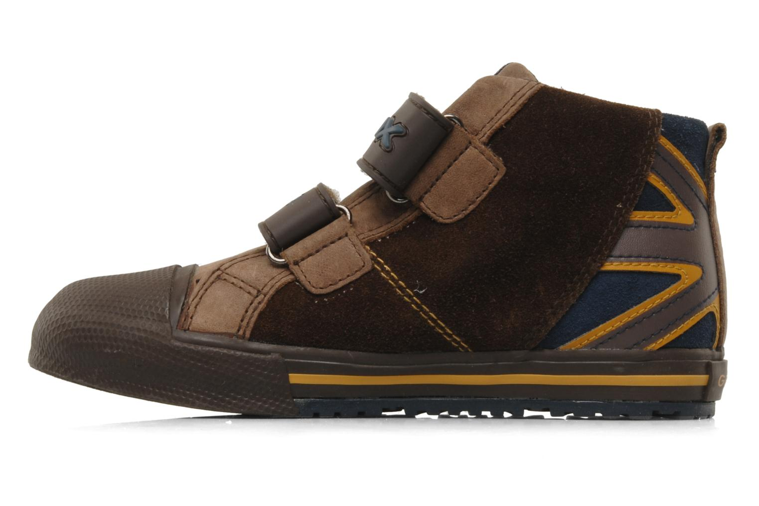 Trainers Geox J ball b Brown front view
