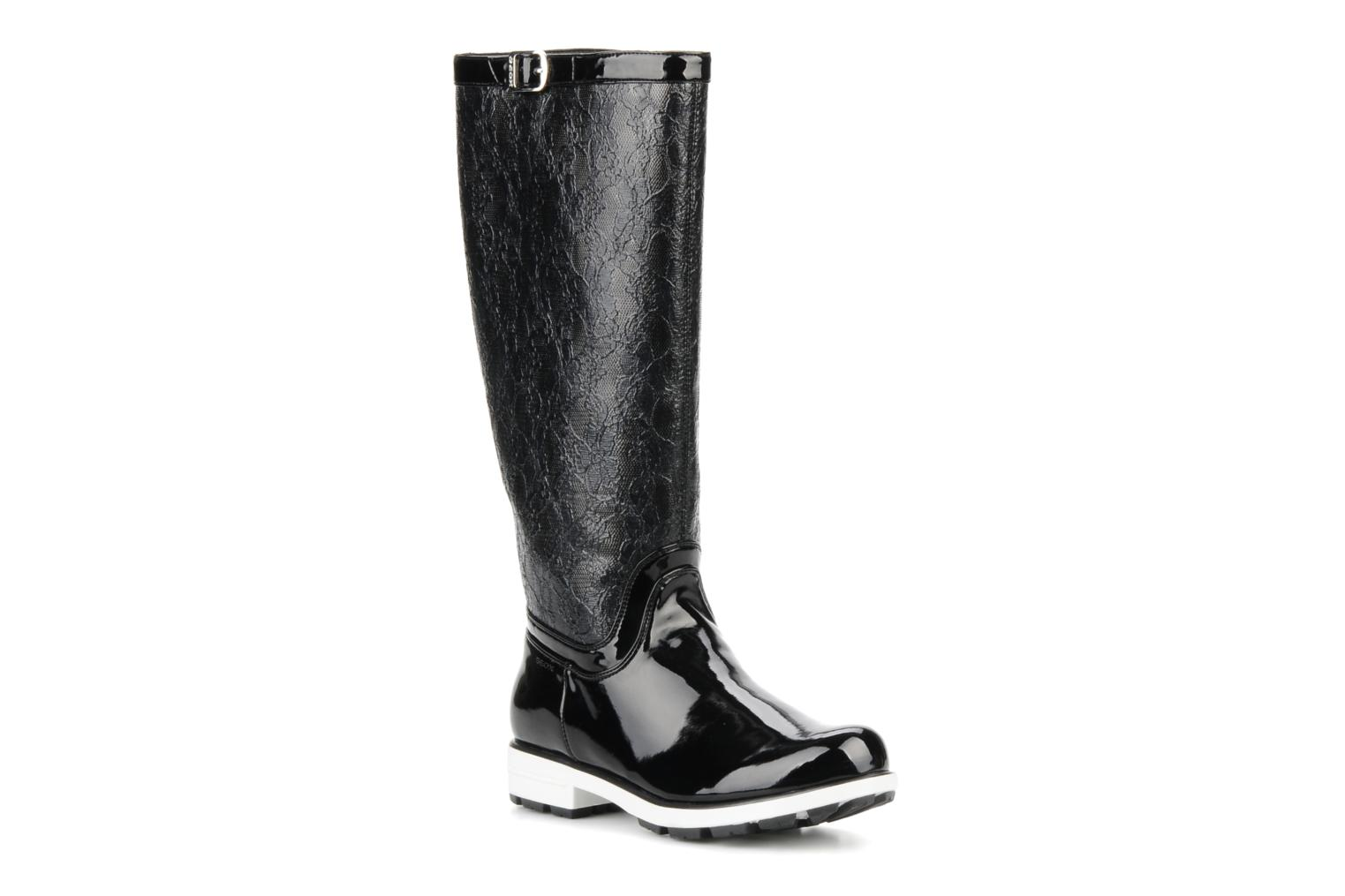 Boots & wellies Geox D dina st c Black detailed view/ Pair view