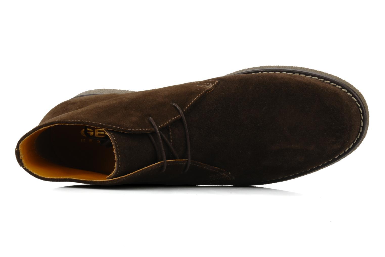 Bottines et boots Geox U claudio b Noir vue gauche