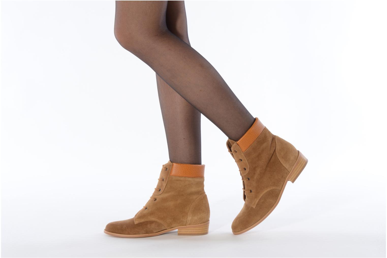 Bottines et boots Le Mont St Michel Lakewood Marron vue bas / vue portée sac