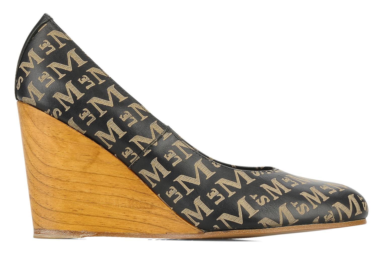 Zapatos de tacón Le Mont St Michel Ponoma Negro vistra trasera