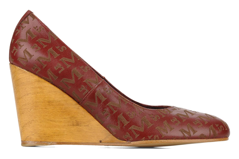 Zapatos de tacón Le Mont St Michel Ponoma Vino vistra trasera