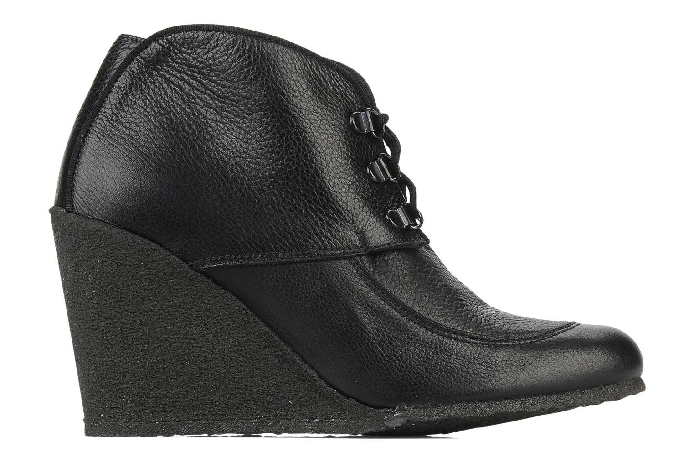 Bottines et boots Le Mont St Michel Alameda Noir vue derrière