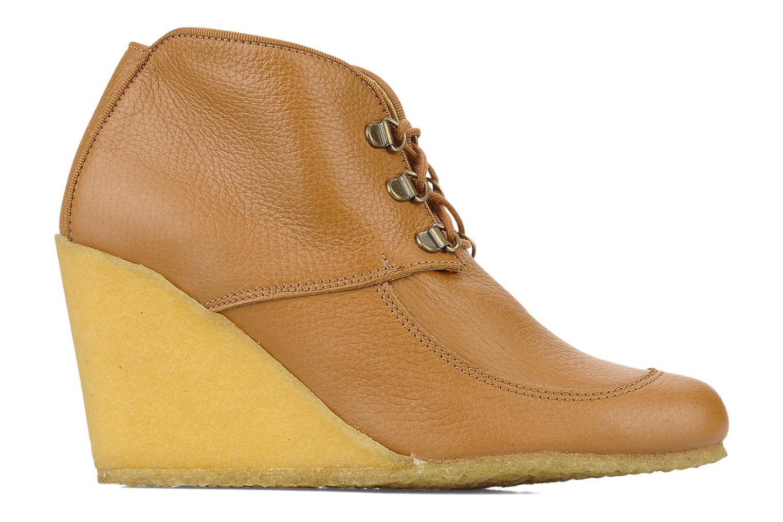 Boots en enkellaarsjes Le Mont St Michel Alameda Bruin achterkant