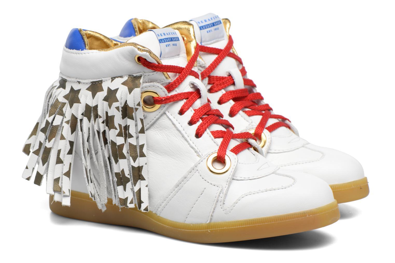 Sneakers Serafini Manhattan Wit 3/4'