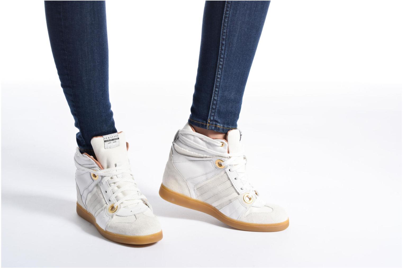 Sneakers Serafini Manhattan Wit onder