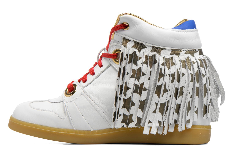Sneakers Serafini Manhattan Wit voorkant
