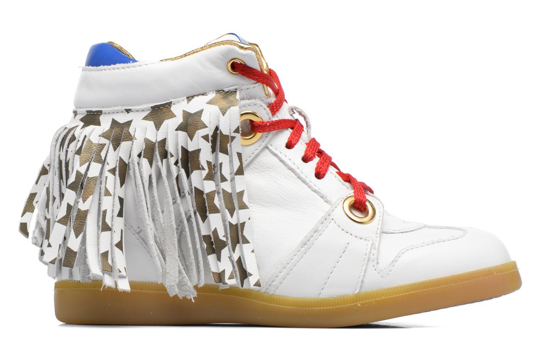 Sneakers Serafini Manhattan Wit achterkant