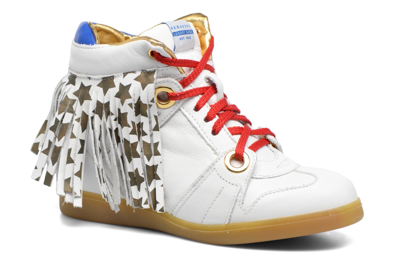 Manhattan White & Gold Stars