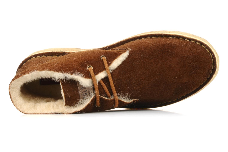Scarpe con lacci U.S Polo Assn. Aileen Marrone immagine sinistra