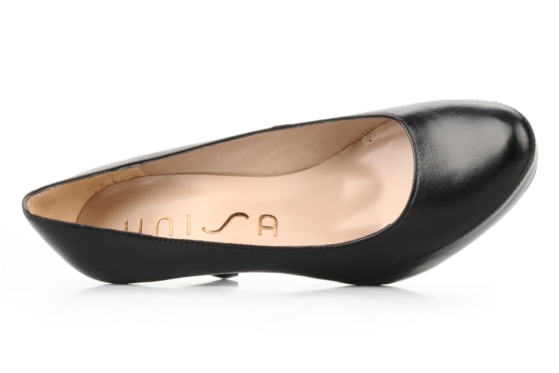 High heels Unisa Numar Black view from the left