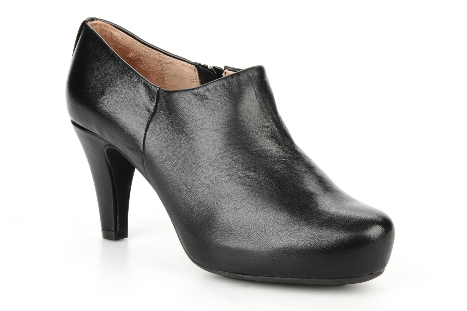 Ankle boots Unisa Nenet Black detailed view/ Pair view