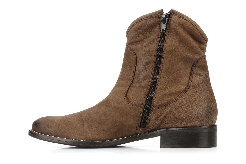 Stivaletti e tronchetti Tosca Blu Shoes Cefalu Marrone immagine frontale