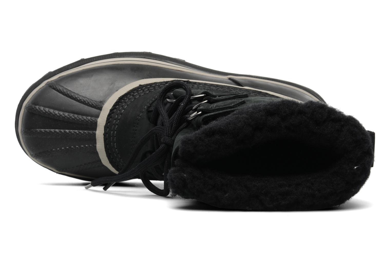 Sportschuhe Sorel Caribou schwarz ansicht von links