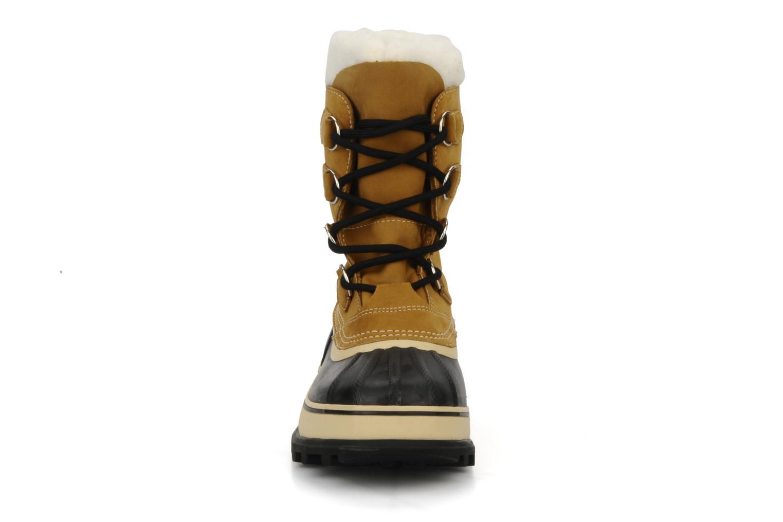 Chaussures de sport Sorel Caribou Beige vue portées chaussures