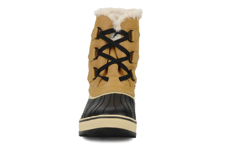 Sportschuhe Sorel Tivoli beige schuhe getragen
