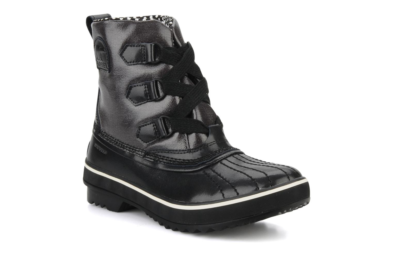 Ankle boots Sorel Tivoli Rain Black detailed view/ Pair view