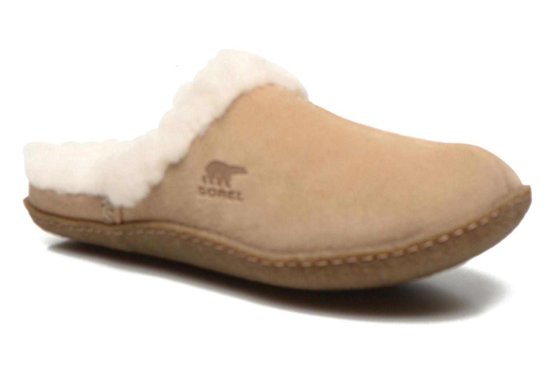 Pantoffels Sorel Nakiska slide Beige detail