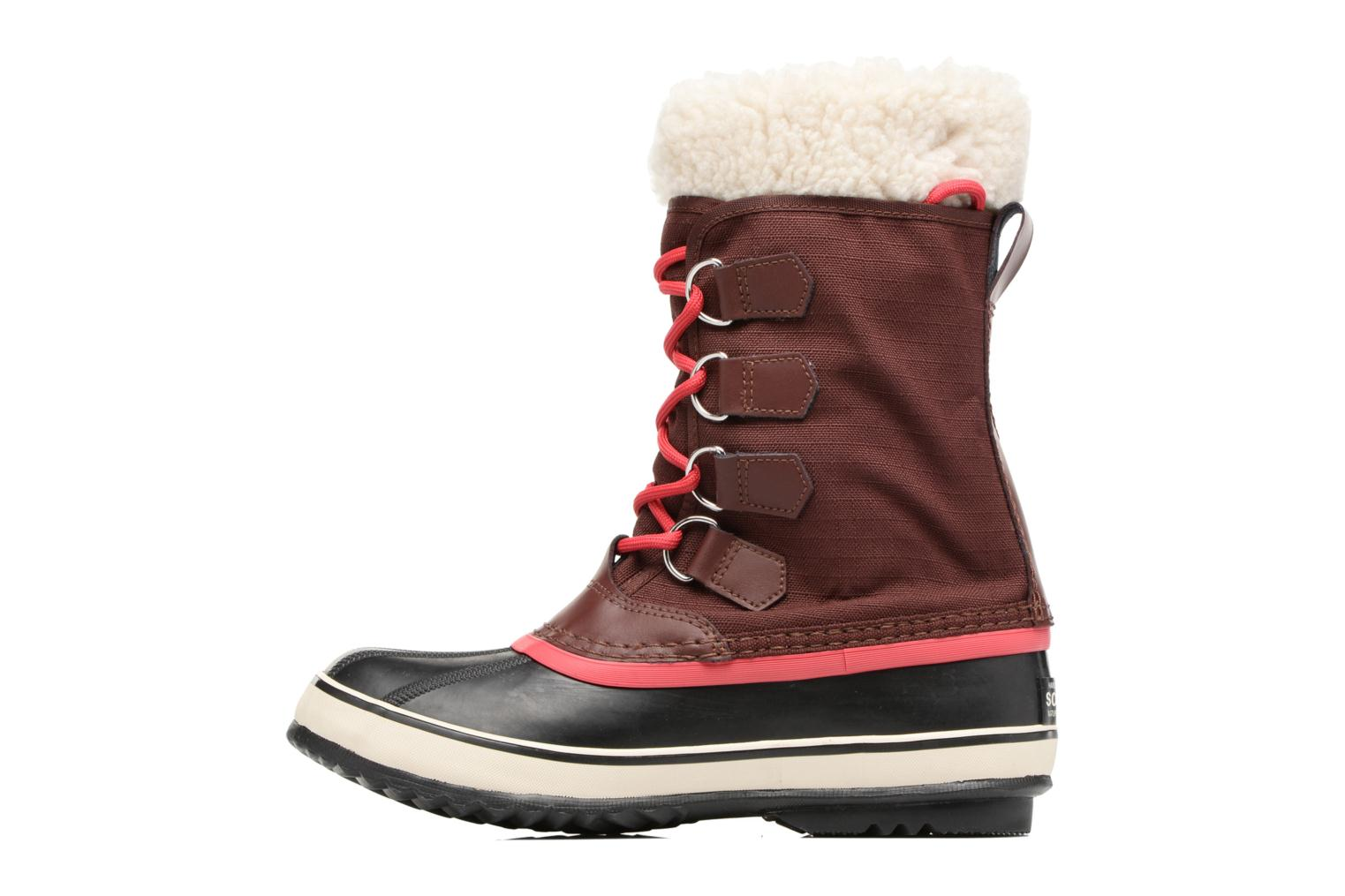 Sport shoes Sorel Winter carnival Burgundy front view