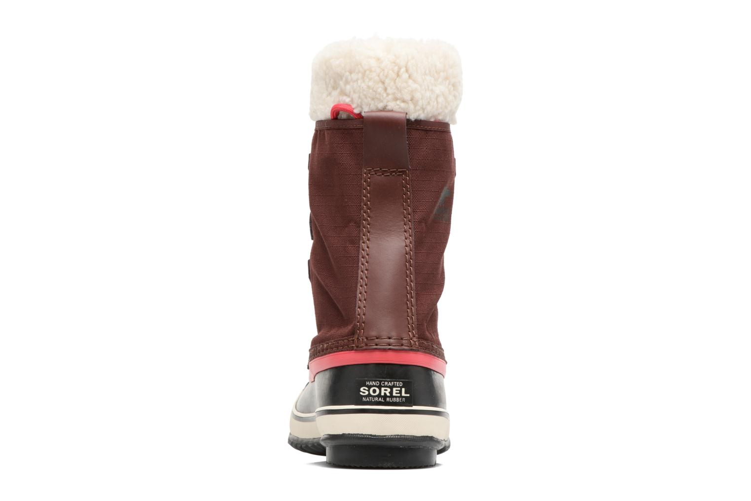 Sport shoes Sorel Winter carnival Burgundy view from the right