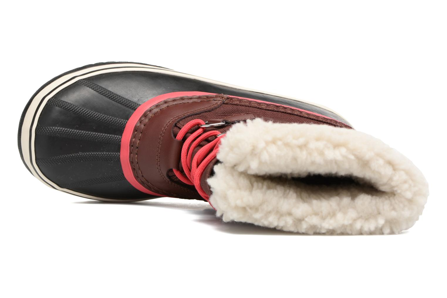Sport shoes Sorel Winter carnival Burgundy view from the left