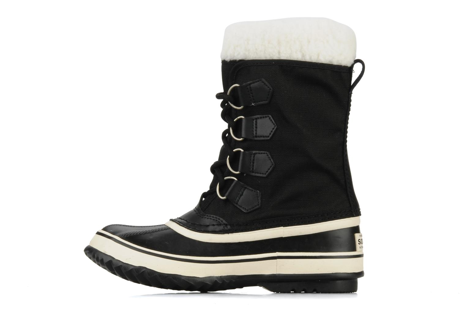 Sport shoes Sorel Winter carnival Black front view