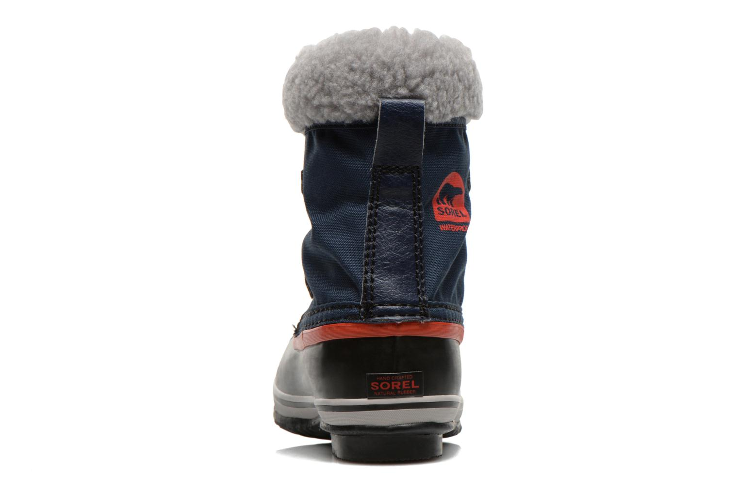 Sport shoes Sorel Yoot Pac Nylon Blue view from the right