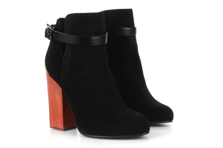 Bottines et boots Vicini Varesa Noir vue 3/4