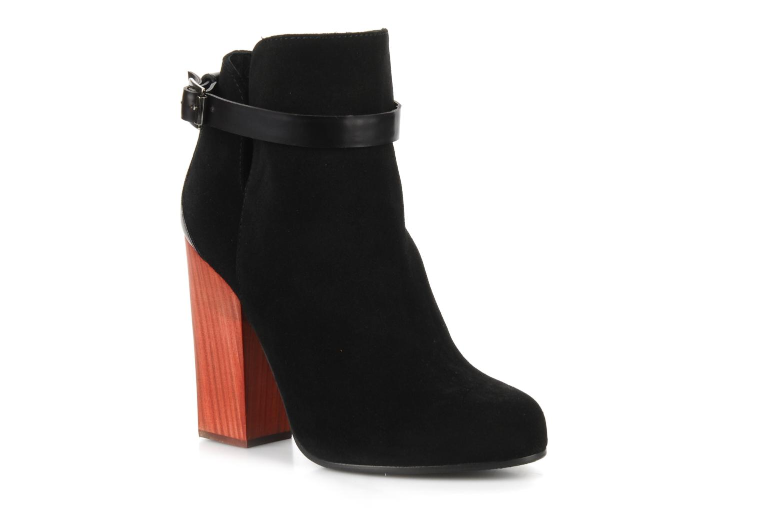 Ankle boots Vicini Varesa Black detailed view/ Pair view