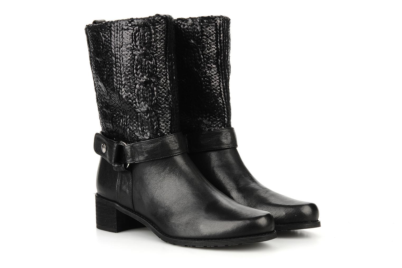Bottines et boots Stuart Weitzman Pimlico Noir vue 3/4