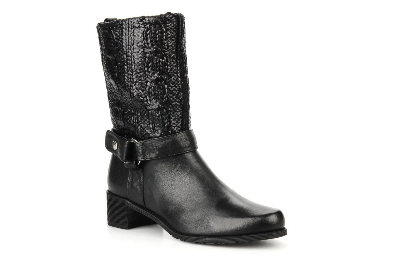 Bottines et boots Stuart Weitzman Pimlico Noir vue détail/paire
