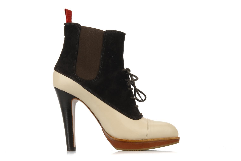 Bottines et boots Michel Perry Virona Beige vue derrière