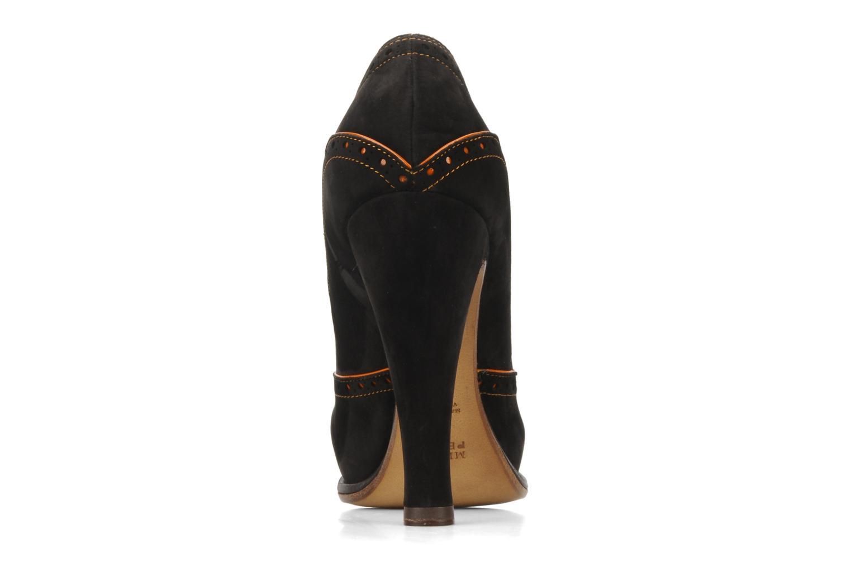 Chaussures à lacets Michel Perry Kavala Marron vue droite