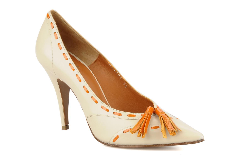 Zapatos de tacón Michel Perry Iraklia Beige vista de detalle / par