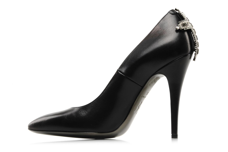 Zapatos de tacón Ernesto Esposito Pazina Negro vista de frente