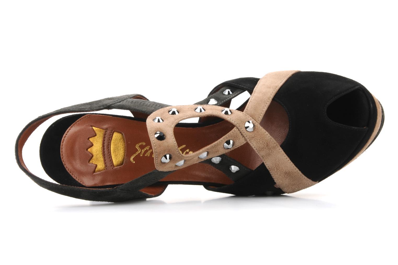 Sandali e scarpe aperte Ernesto Esposito Estevana Nero immagine sinistra