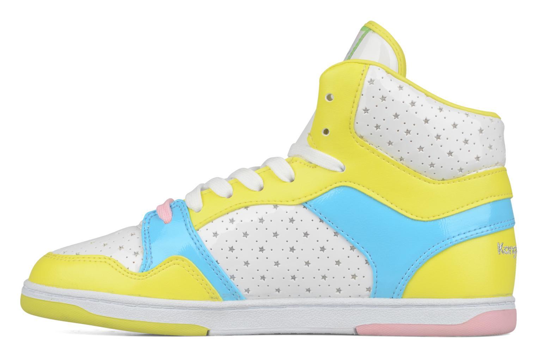 Sneaker Kangaroos Giselle gelb ansicht von vorne