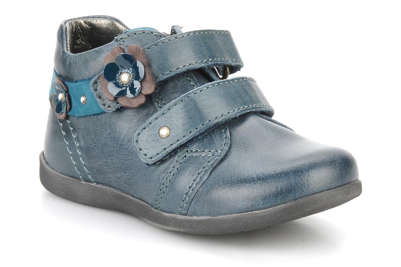 Chaussures à scratch Stones and Bones Sofi Bleu vue détail/paire