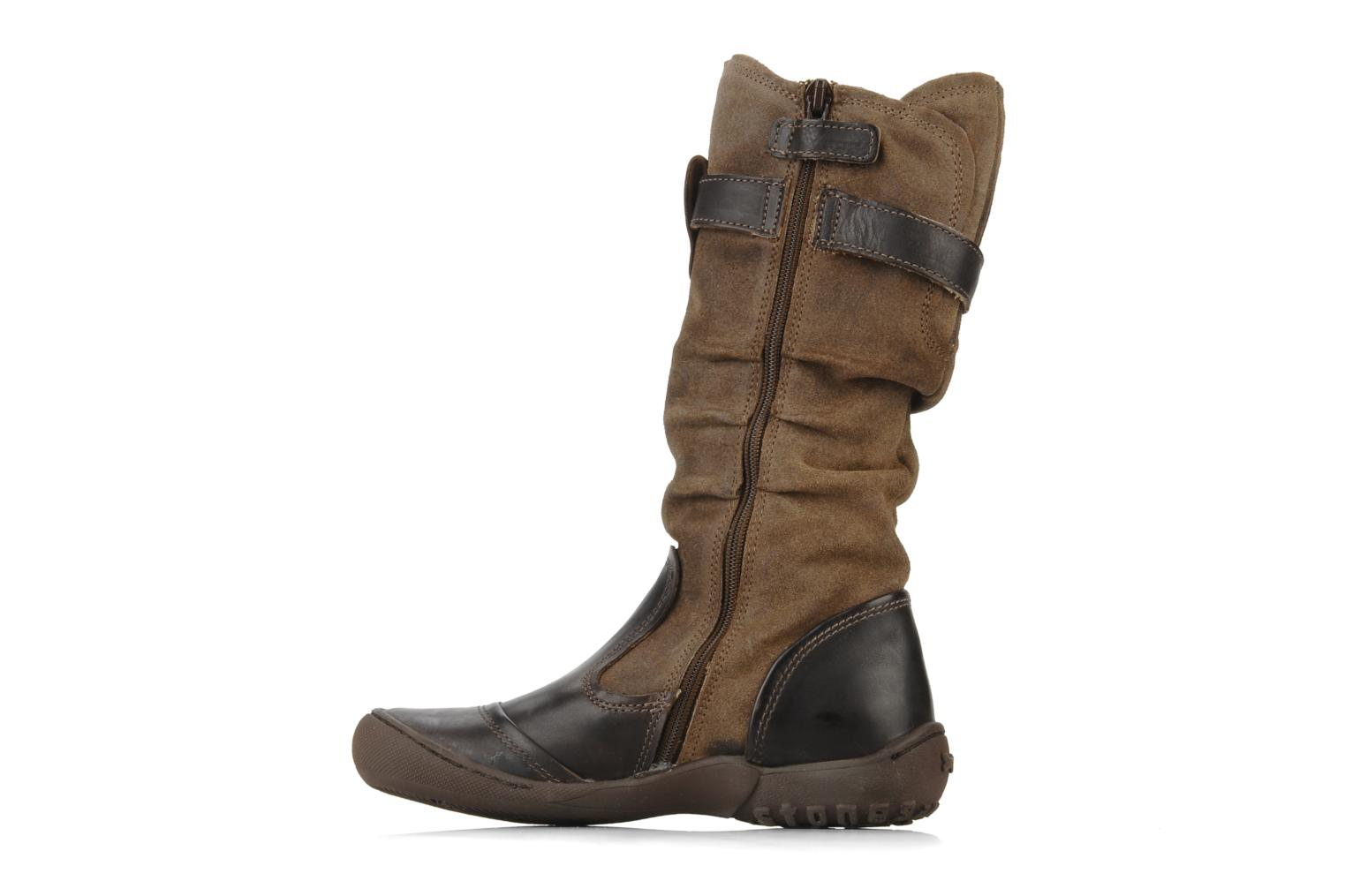 Bottes Stones and Bones Darly Marron vue face