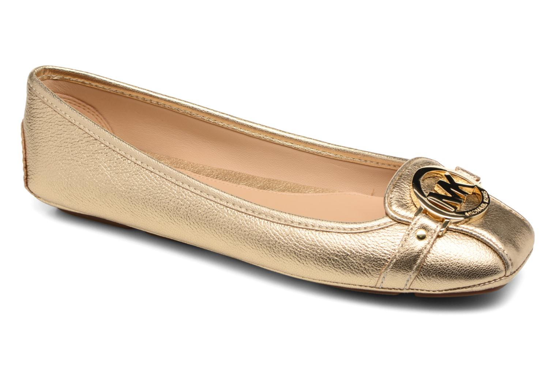 Ballerines Michael Michael Kors Fulton Moc Or et bronze vue détail/paire