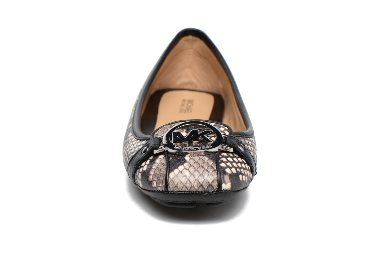 Ballerines Michael Michael Kors Fulton Moc Noir vue portées chaussures