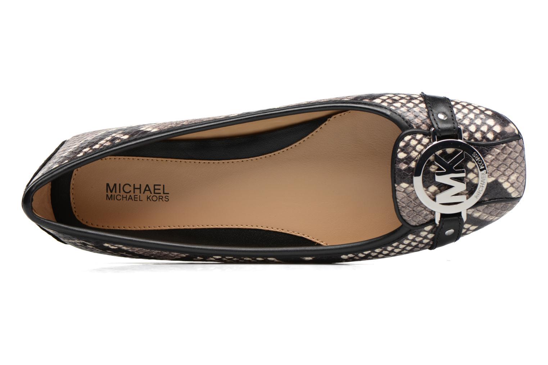 Ballerines Michael Michael Kors Fulton Moc Noir vue gauche